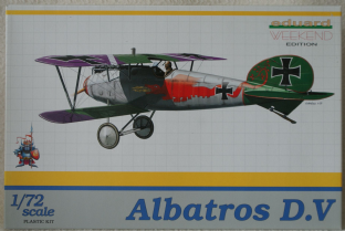 Eduard 1/72 7402 Albatros D.V Weekend